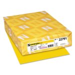 neenah-colored-card-stock-65-lb-8-12-x-11-yellow-250-sheets-wau22791