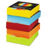 Astrobrights Colored Paper, 8-1/2 x 11, Assorted, 2,500 Sheets Carton (WAU22999)