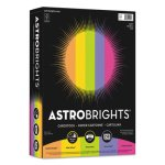 Astrobrights Colored Card Stock, 8-1/2 x 11, Assorted, 250 Sheets (WAU21004)