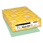 neenah-exact-index-card-stock-110-lb-8-1-2-x-11-green-250-sheets-wau49561