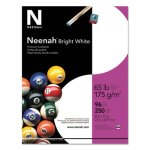 Neenah Card Stock, 8-1/2 x 11, 65lb., Bright White, 250 Sheets (WAU91904)