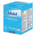Midol Complete Menstrual Caplets, Two-Pack, 50 Packs/Box (FAO90751)
