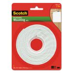 "Scotch Permanent High-Density Foam Mounting Tape, 1"" Wide x 125"" Long (MMM112L)"
