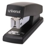 universal-economy-half-strip-stapler-12-sheet-capacity-black-unv43119