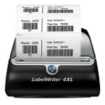 "Dymo LabelWriter 4XL, 4"" Labels, 53 Labels/Minute (DYM1755120)"