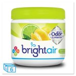 Bright Air Super Odor Eliminator, Lemon & Lime, 6 Jars (BRI900248)
