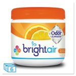 Bright Air Odor Eliminator, Mandarin Orange & Lemon, 6/Carton (BRI900013CT)