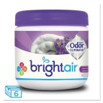 Bright Air Super Odor Eliminator, Lavender & Linen, 6 Jars (BRI900014CT)