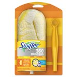 Swiffer 360 Duster Starter Kit, Yellow, 12 Kits (PGC 16942CT)
