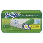 Swiffer Wet Refill Cloths, Open Window Fresh, 12 Cloths (PGC95531PK)