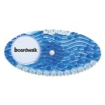 Boardwalk Curve Air Freshener, Cotton Blossom, Blue, 10/Box (BWKCURVECBL)