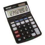 Victor 1180-3A Antimicrobial Desktop Calculator, 12-Digit LCD (VCT11803A)