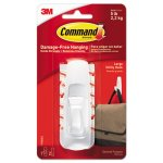 Command General Purpose Hooks, 5-lb. Capacity, 1 Hook & 2 Strips (MMM17003ES)