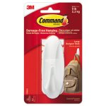 Command General Purpose Hooks, 5-lb. Capacity, 1 Hook & 2 Strips (MMM17083ES)