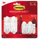 Command General Purpose Hooks Small/Medium, 4 Hooks - 8 Strips (MMM170812VPES)