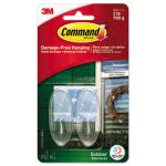 command-all-weather-hooks-and-strips-plastic-medium-2-hooks-4-stripspack-mmm17091clrawes