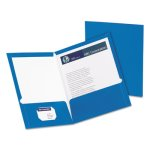 oxford-laminated-paperboard-folder-100-sheet-capacity-blue-25box-oxf51701