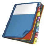 cardinal-poly-8-tab-index-dividers-letter-assorted-4-sets-crd84017