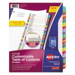 avery-table-of-contents-dividers-multicolor-tabs-1-31-31-dividers-ave11846