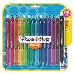 Paper Mate InkJoy Retractable Gel Pens, 0.7mm, Assorted, 14 Pens (PAP1951636)