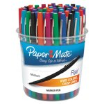 Paper Mate Flair Felt Tip Marker Pen, Assorted, Medium, 48 Pens/Set (PAP4651)