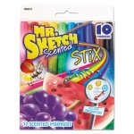 mr-sketch-scented-stix-watercolor-markers-fine-point-10-set-san1905313