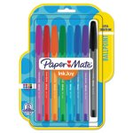 paper-mate-inkjoy-100-stick-pen-10-mm-assorted-8set-pap1945932