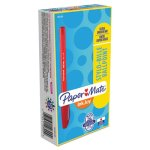 Paper Mate InkJoy 100 Stick Pen, 1.0 mm, Red Ink, Dozen (PAP1951255)