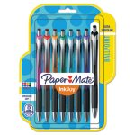 paper-mate-inkjoy-500-rt-ballpoint-pen-10-mm-assorted-ink-8pk-pap1951280