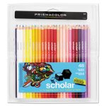 Prismacolor Scholar Colored Woodcase Pencils, 48 Assorted Colors/Set (SAN92807)