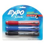 expo-click-retractable-whiteboard-markers-chisel-tip-3-markers-san1741919