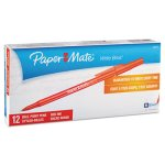 paper-mate-ballpoint-stick-pen-red-ink-medium-dozen-pap3321131
