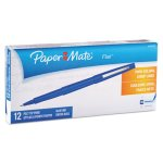 paper-mate-flair-porous-point-pen-blue-ink-medium-dozen-pap8410152