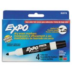 expo-low-odor-dry-erase-markers-bullet-tip-assorted-4-set-san82074