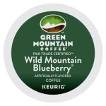 Green Mountain Coffee Fair Trade Mountain Blueberry K-Cups, 24 K-Cups(GMT6783)