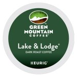 Green Mountain Coffee Lake & Lodge Coffee K-Cups, 24/Box (GMT6523)