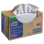 Tork Industrial Cleaning Cloth, Handy Box, 1-Ply, Gray, 280 Cloths (TRK520371)