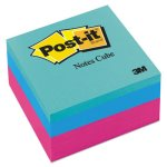 Post-it Notes Cube, 3 x 3, Ultra, 390 Sheets, 1 Each (MMM2027RCR)