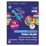 Pacon Tru-Ray Construction Paper, 9 x 12, Assorted, 50 Sheets (PAC102940)
