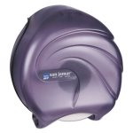 San Jamar R2090 Jumbo Jr. Single Roll Toilet Paper Dispenser (SAN R2090TBK)