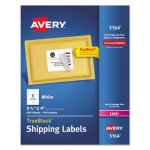 "Avery 5164 White Shipping Labels, 3-1/3"" x 4"", 600 Labels (AVE5164)"