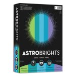 Astrobrights Colored Paper, 8-1/2 x 11, Cool Assortment, 500 Sheets (WAU20274)