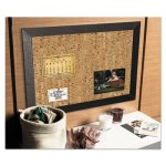 Mastervision Natural Cork Bulletin Board, 36x24, Cork/Black (BVCSF0722581012)