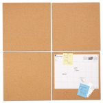 universal-cork-tile-panels-brown-12-x-12-4-pack-unv43404