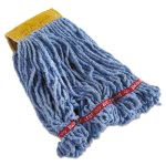Rubbermaid C251 Swinger Loop Mop Heads, Blue, Small, 6 Mops (RCPC251BLU)
