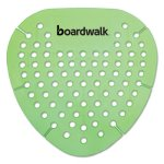 Boardwalk Gem Urinal Screens, Herbal Mint Fragrance, 12 Screens (BWKGEMHMI)