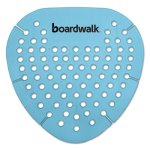 Boardwalk Gem Urinal Screen, Cotton Blossom, Blue, 12 Screens (BWKGEMCBL)