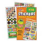Trend Sticker Assortment Pack, Praise/Reward, 738 Stickers/Pad, Each (TEP5011)