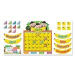 trend-monkey-mischief-calendar-bulletin-board-set-18-14-x-31-100-pieces-tep8340