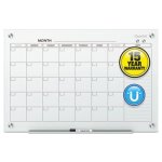quartet-infinity-magnetic-glass-calendar-board-36-x-24-qrtgc3624f